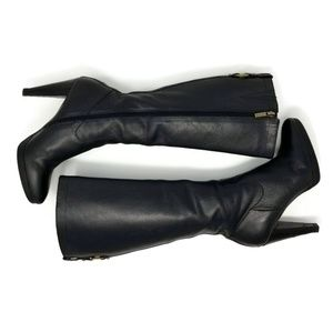 Christi High Heel Leather Boots Banana Republic 7